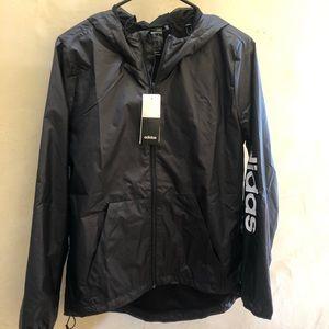 NWT Adidas women's windbreaker jacket DP2408